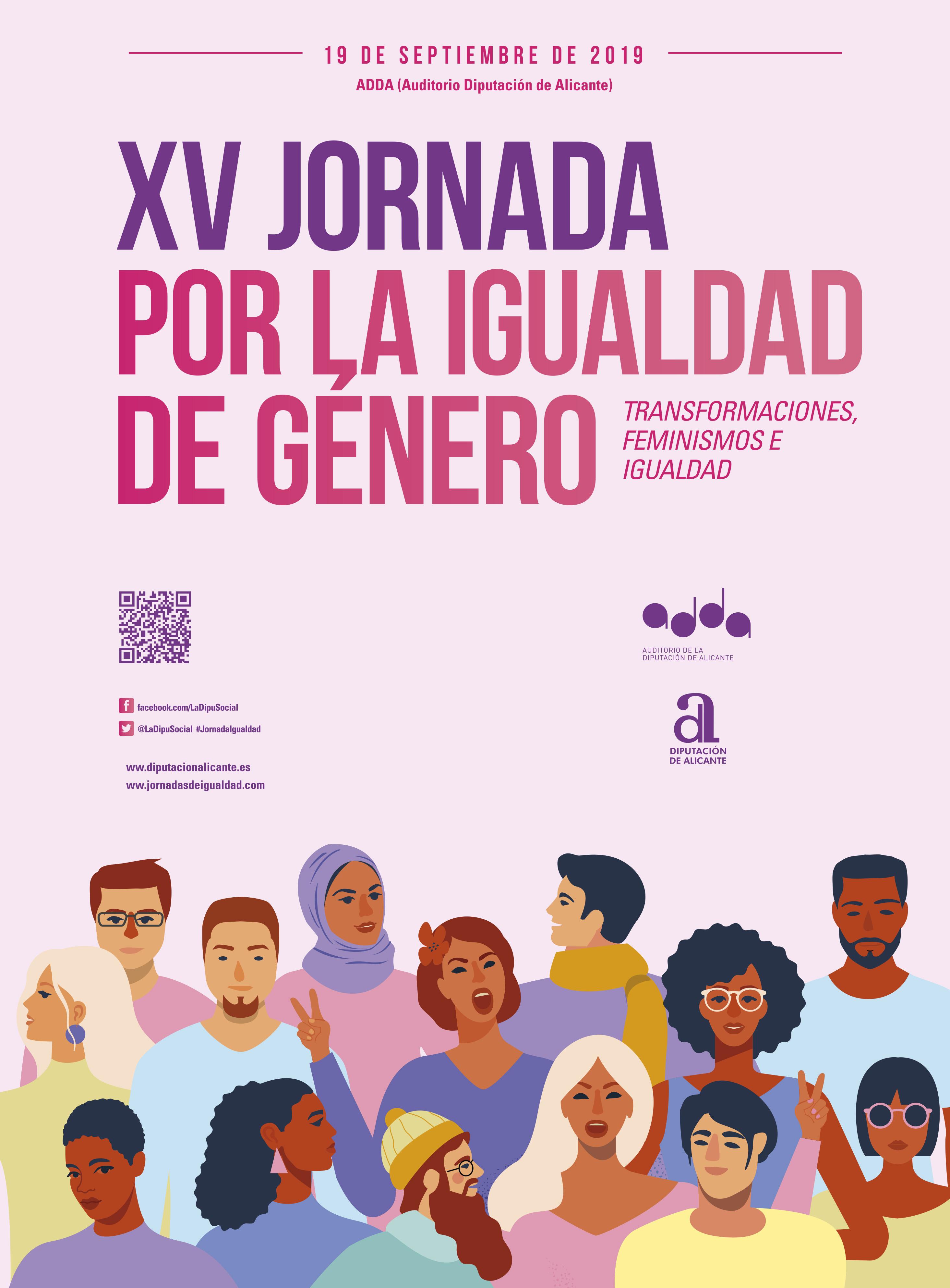 XV JORNADAS POR LA IGUALDAD. TRANSFORMACIONES, FEMINISMOS E IGUALDAD.