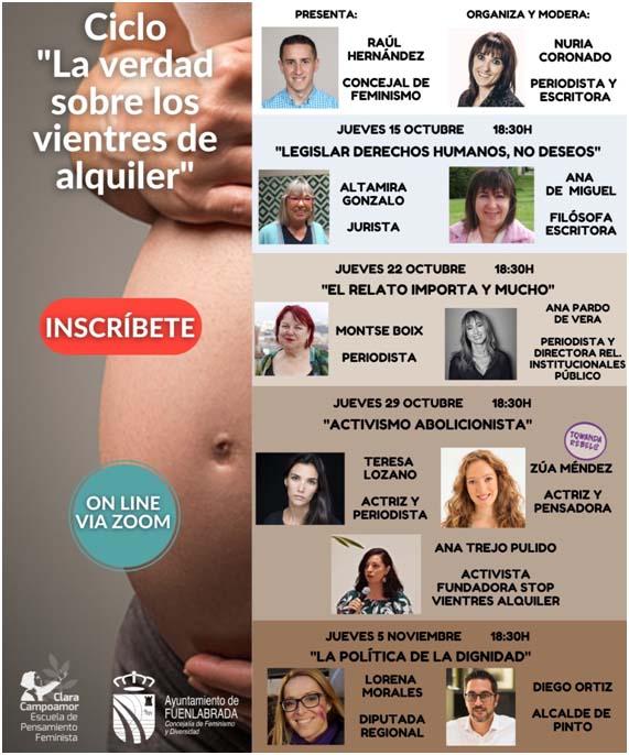 Ciclo de conferencias «La verdad sobre los vientres de alquiler»