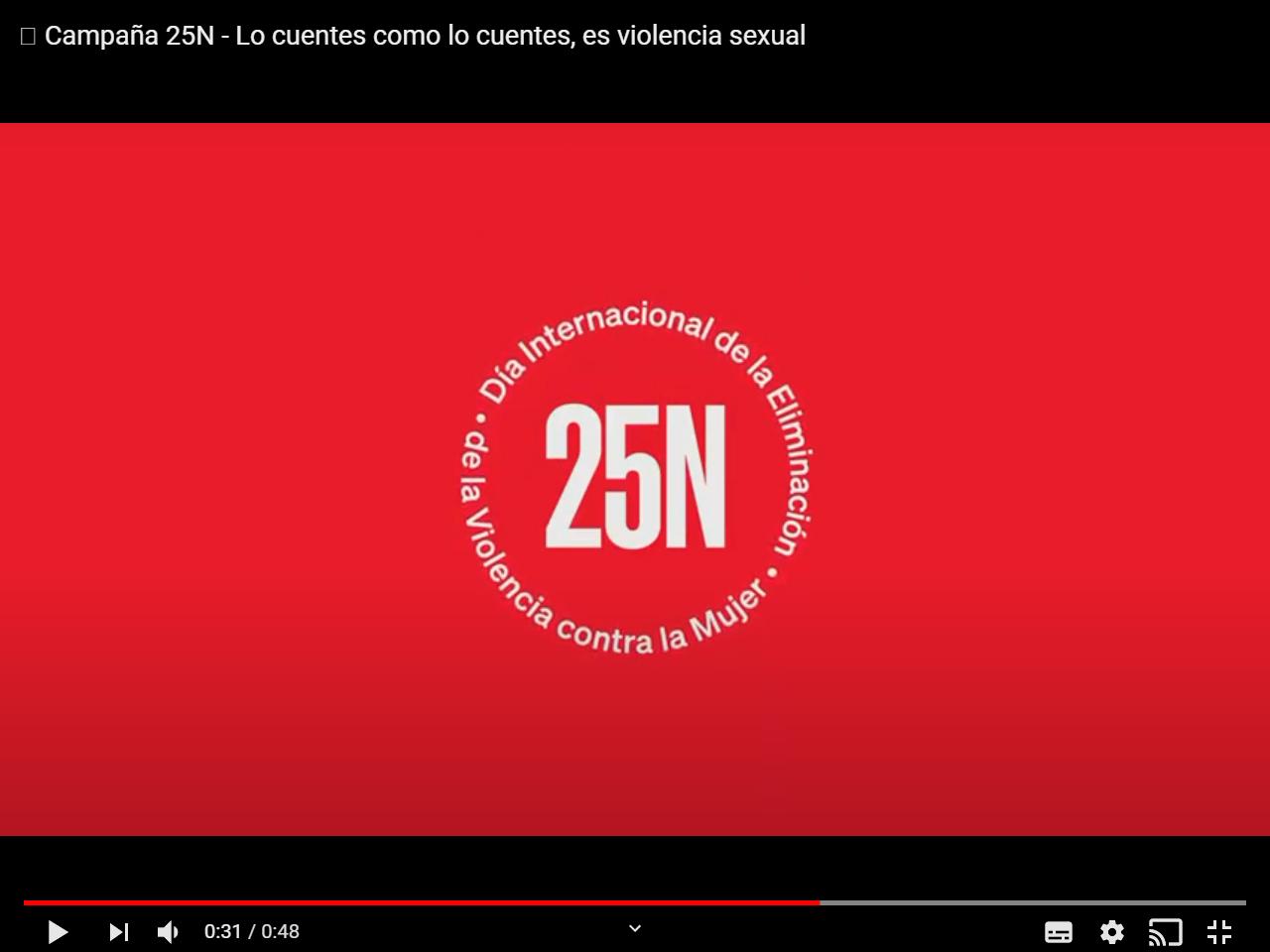 25 de noviembre: Campaña institucional de la Vicepresidencia y Consellería de Igualdad y Políticas Inclusivas