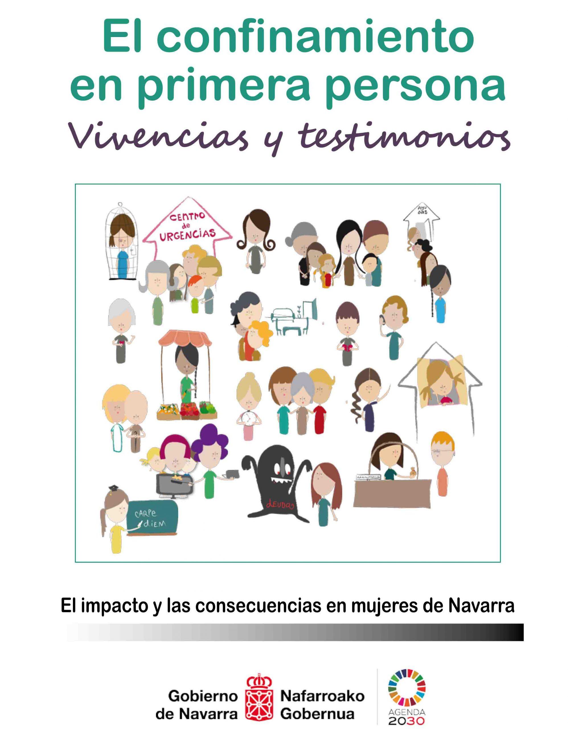 El confinamiento en primera persona. Vivencias y testimonios. El impacto y las consecuencias en mujeres de Navarra