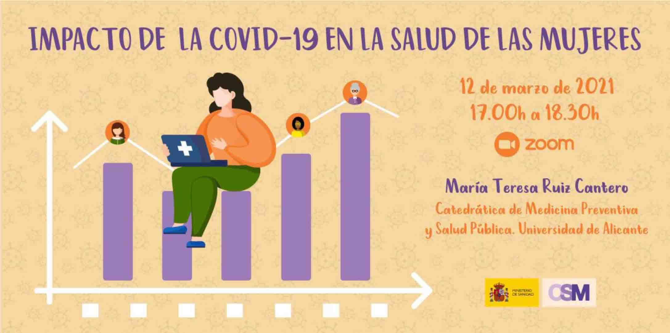 Ciclo de webinars sobre el impacto de la pandemia por COVID-19 en la salud de las mujeres